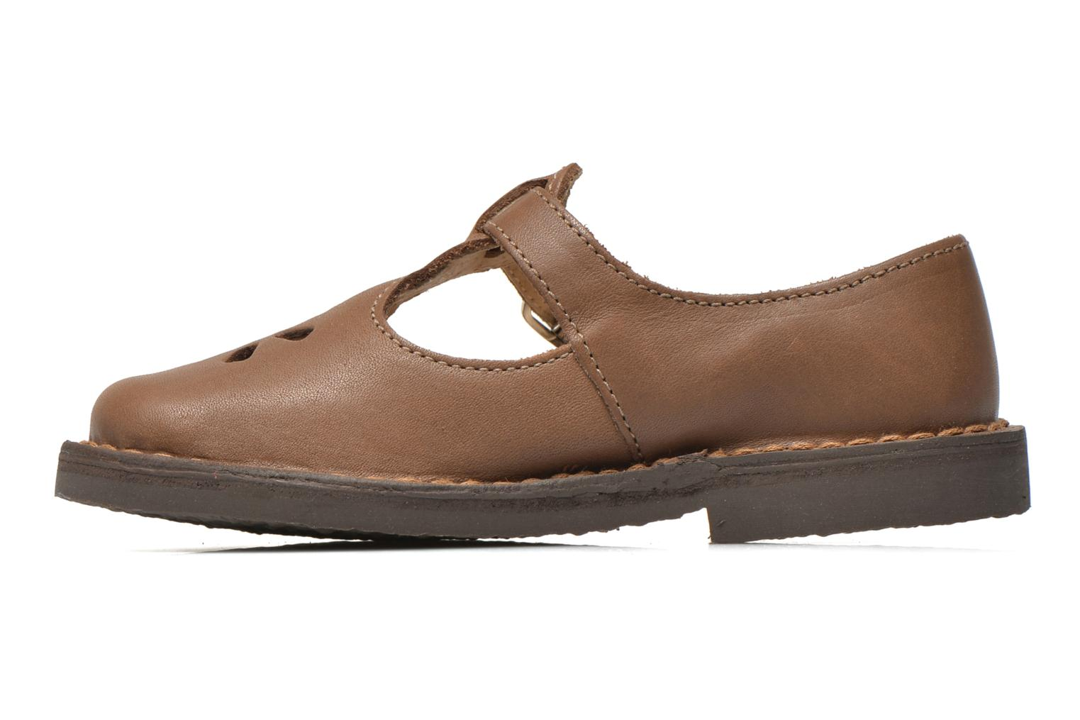 Ballerines Aster Dingo Marron vue face